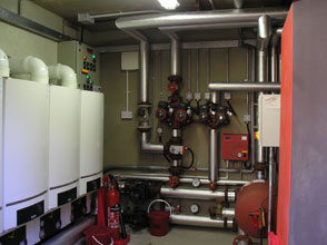picture of the Boiler House of the new Four Seasons Nursing Home
